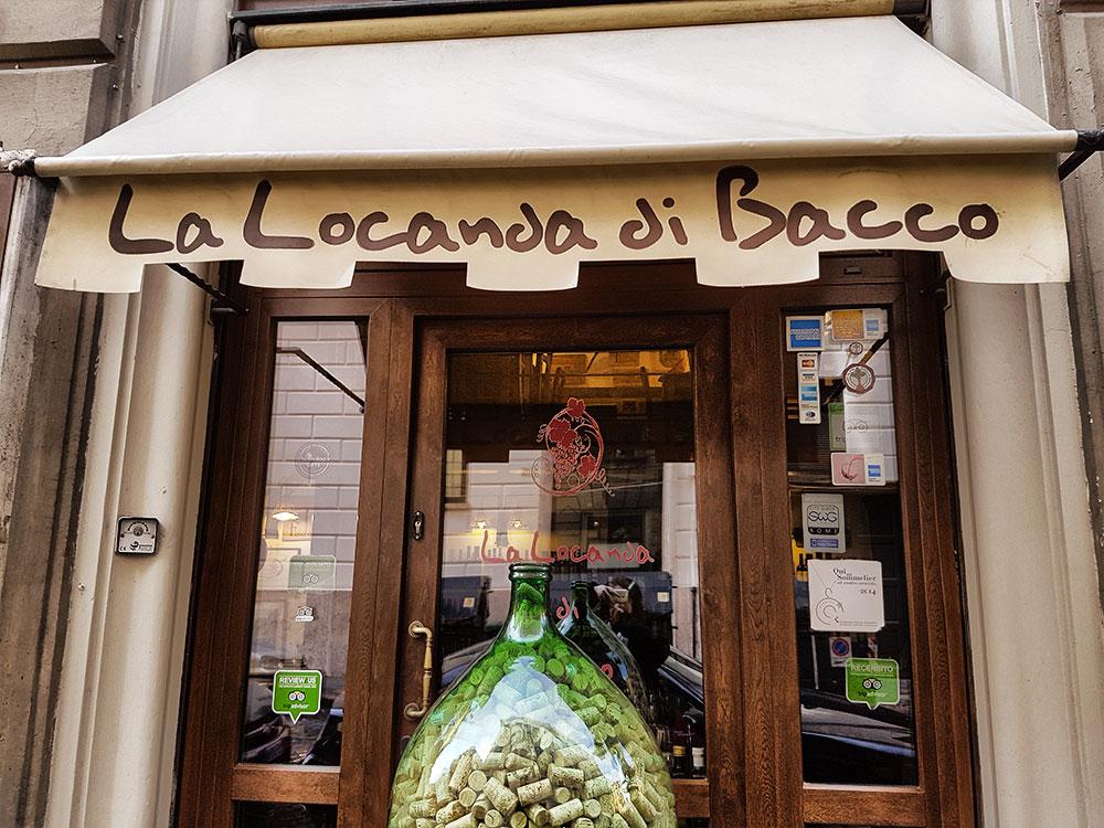 La locanda di bacco ristorante cucina tradizionale romana for Arredamento rustico italiano